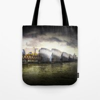 The Thames Barrier Londo… Tote Bag