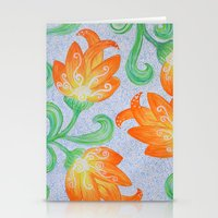 Blooming Star Stationery Cards