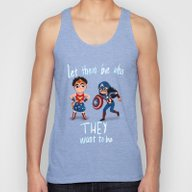 Let Them Be Who They Wan… Unisex Tank Top