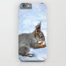 Walnut With Snow iPhone 6 Slim Case