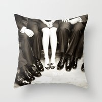 The Groomswoman Throw Pillow