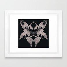 You've got some nerve Framed Art Print