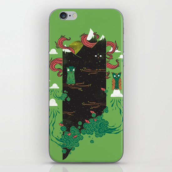 Nighttime iPhone & iPod Skin