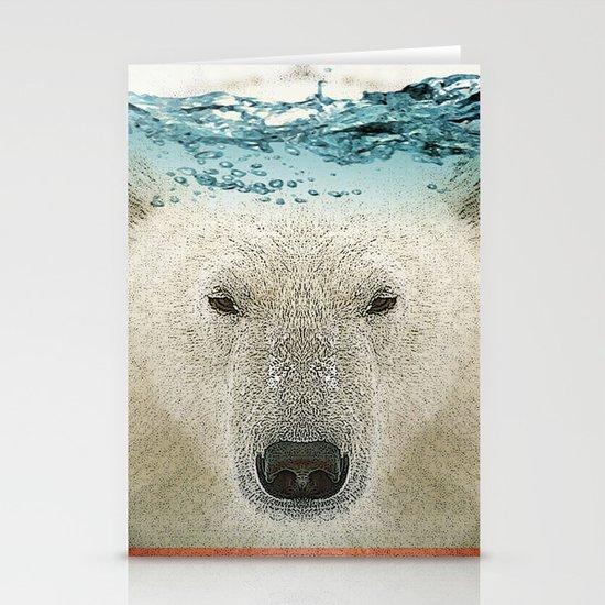 bear line Stationery Card