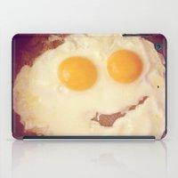 smiley egg iPad Case