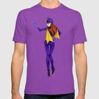 Batgirl Mens Fitted Tee Ultraviolet SMALL
