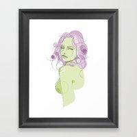 My Name Is EVOL Framed Art Print