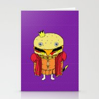 royale with cheese Stationery Cards