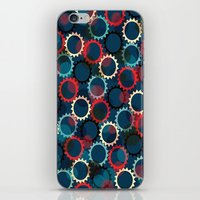 Flores de luna iPhone & iPod Skin