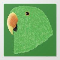 Amazon Eclectus [Male] Canvas Print