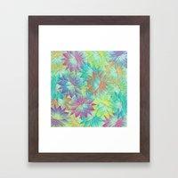 Flower Sea Framed Art Print