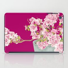 Heavenly Blossom on Pink iPad Case