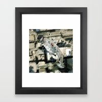 Drop Framed Art Print