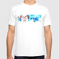 Cara De Asco Mens Fitted Tee White SMALL