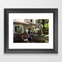 Childhood Blues II Framed Art Print