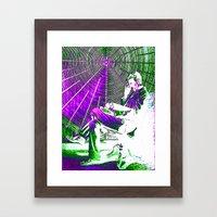 TESLA COIL Framed Art Print