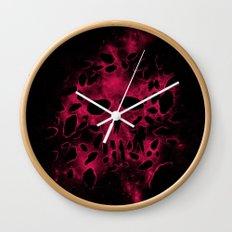 Death on Deep Space Wall Clock