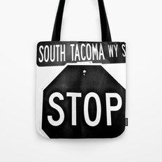 South Tacoma Stop Tote Bag