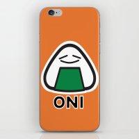 Oni the Onigiri, Kawaii iPhone & iPod Skin