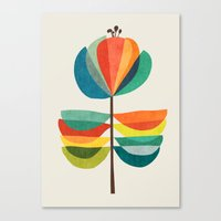 Whimsical Bloom Canvas Print