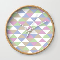Triangle Pattern #3 Wall Clock