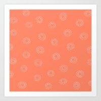 JOY Pink Art Print