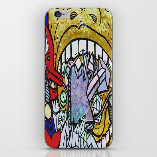 Graffiti II iPhone & iPod Skin