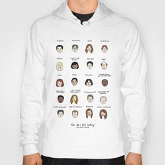 The Office Mood Chart Hoody