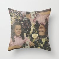 Monozygotic  Throw Pillow