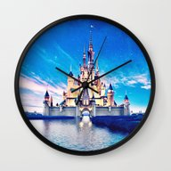 Disney Magic Castle Wall Clock