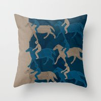 Journey 02 Throw Pillow