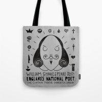 England's National Poet Tote Bag