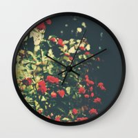 Summer Roses Series  - I -   Wall Clock