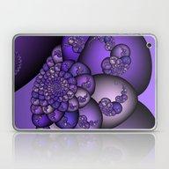 Perplexity Of Purple Laptop & iPad Skin