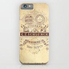 Vintage photo card 2 Slim Case iPhone 6s
