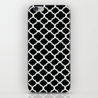 Black And White Graphic … iPhone & iPod Skin