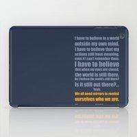 We All Need Mirrors iPad Case