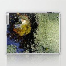 Yellow leaf in the water Laptop & iPad Skin