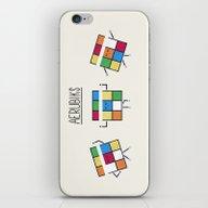 iPhone & iPod Skin featuring Aerubiks by Teo Zirinis