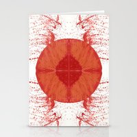 Sunday Bloody Sunday Stationery Cards