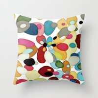 The River Bed Throw Pillow
