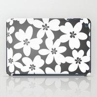 Grey Floral iPad Case