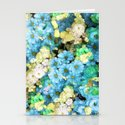 Blue Blossoms Stationery Cards