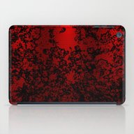 Red And Black Abstract D… iPad Case