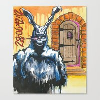 Frank and the Cellar Door Canvas Print