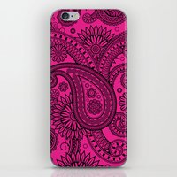 Paisley Pink iPhone & iPod Skin