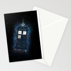 Totally And Radically Driving In Space Stationery Cards