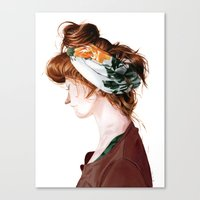 Red Head Canvas Print