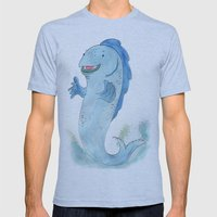 Jazz Fins Mens Fitted Tee Athletic Blue SMALL