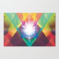 PRYSMIC ORBS II Canvas Print